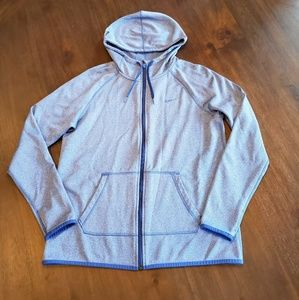 Nike women's Therma fit zip up hoodie size M